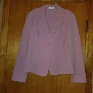 A. Byer rose blazer jacket